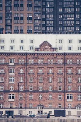 Cathinka Ingman - Qvarnen, photograph, building, architecture, wall art, city
