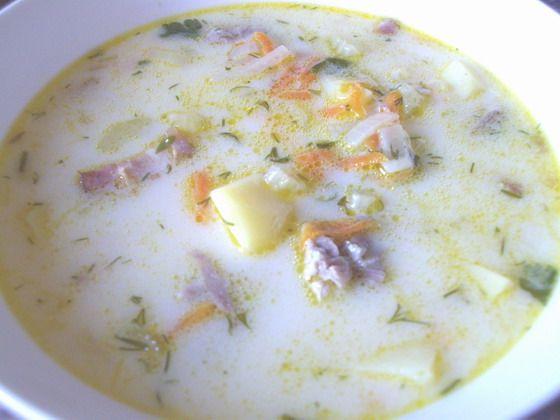 Суп картофельный с беконом рецепт