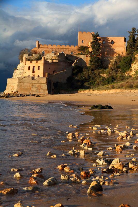 Fort of São João do Arade, Algarve, Ferragudo, Lagoa, Portugal.