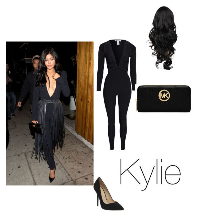 """""""Kylie Jenner outfit"""" by army-kylee ❤ liked on Polyvore featuring Office and Michael Kors"""