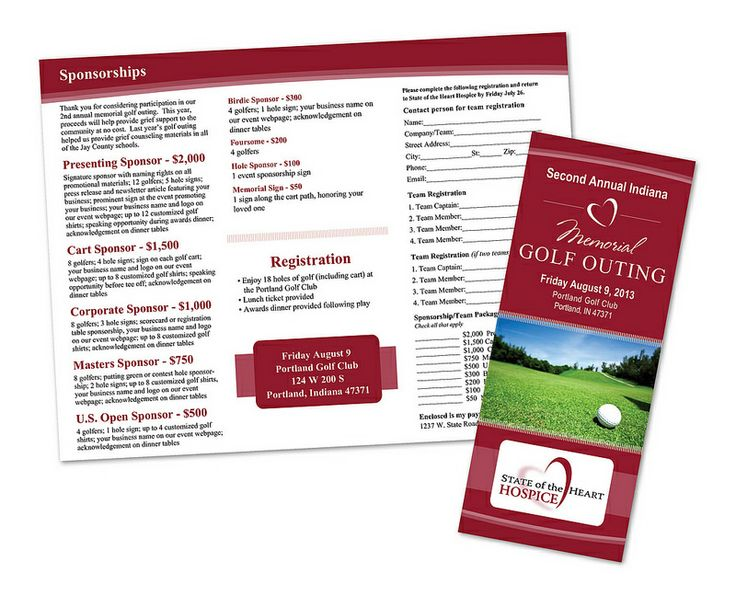 22 best Fundraiser - Golf Outing images on Pinterest Golf outing - golf tournament brochure
