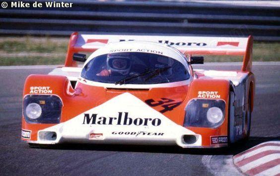 RSC Fotogalerie - Spa 1000 Kilometry 1984 - Porsche 956 č.34 - Závodní Sportovní auta: