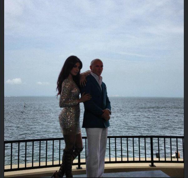 "Wall Street Journal Releases BTS Photos of Priyanka Chopra & Pitbull's ""Exotic"" MV"