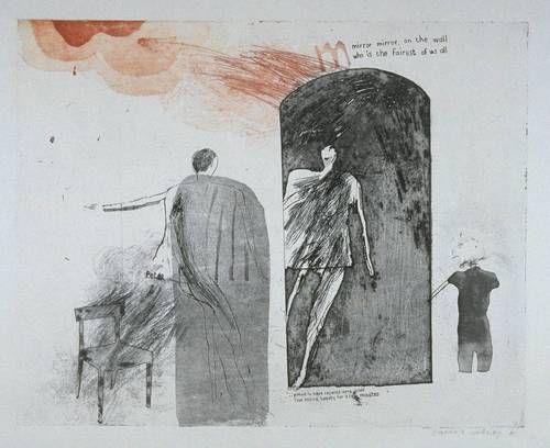 David Hockney, Mirror, Mirror on the Wall, 1961