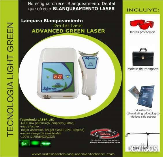 lampara blanqueamiento dental laser green  Y EN NUESTRO MES DE ANIVERSARIO, INVERSIONES ORION DENTAL te ofrece todos nuestros productos con ...  http://arequipa-city.evisos.com.pe/lampara-blanqueamiento-dental-laser-green-id-610918