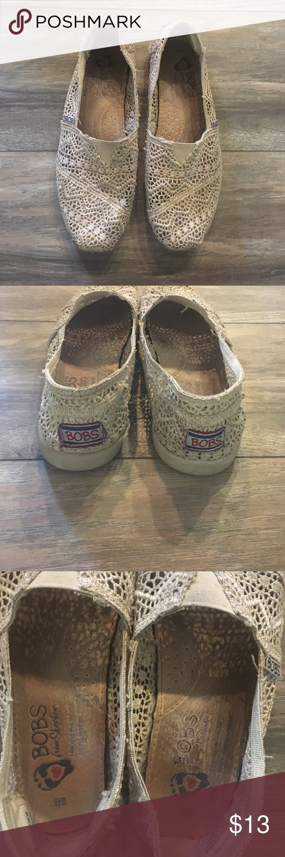 BOBS shoes Gorgeous and in great condition👍 Toms Shoes Flats & Loafers