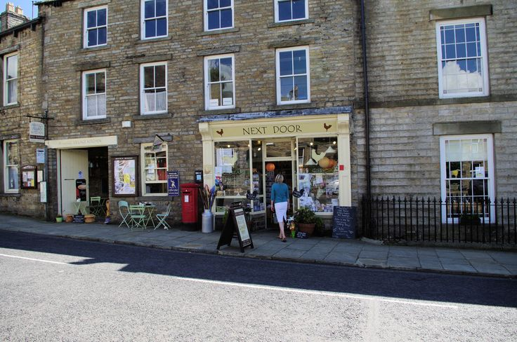 Askrigg Village Kitchen, great takeaways, deli, cafe and other little treats to enjoy.