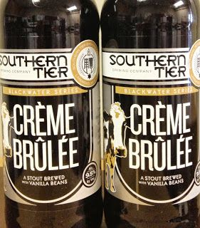Southern Tier Creme Brulee   Stout with Vanilla Beans