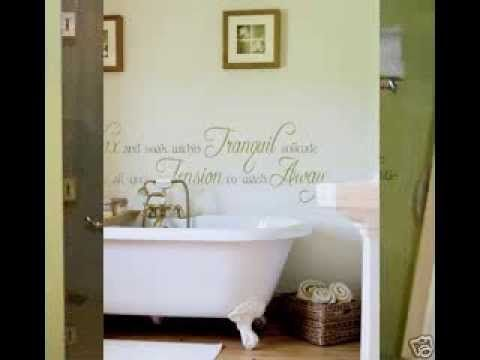 Best Bathroom Wall Decals Images On Pinterest Bathroom Wall