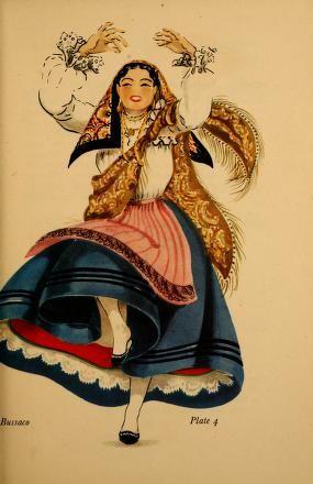 ARQUIVO HISTÓRICO (Madeira): Dances of Portugal - Lucile Armstrong (1950)