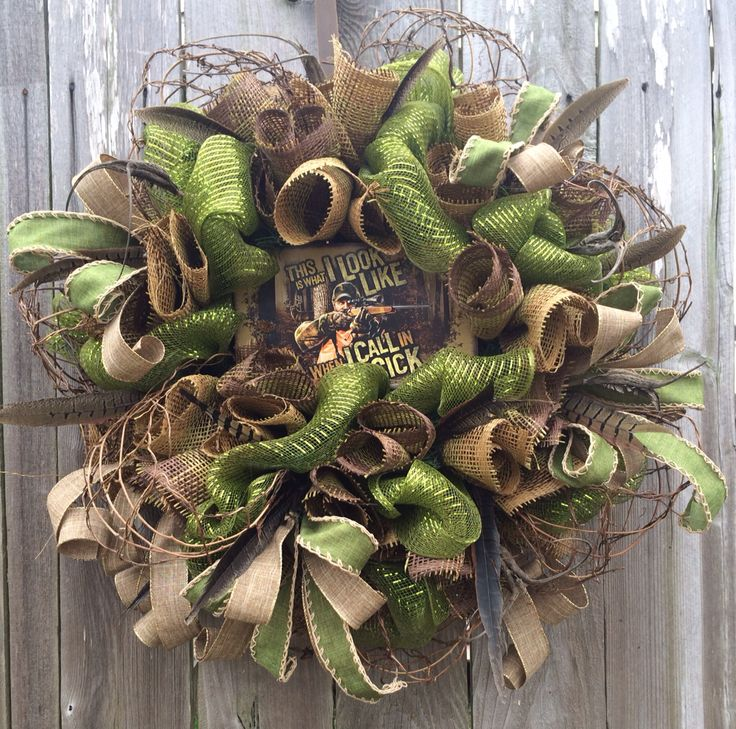 Hunting Wreath by Ba Bam Wreaths