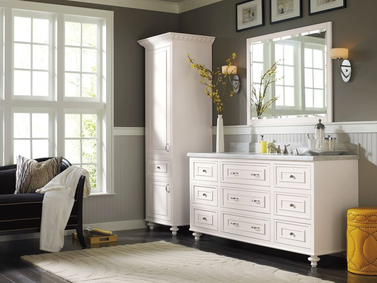 Image Gallery Website Transitional and uncluttered Omega us new Passage Suite cabinetry featuring the Glen Haven cabinet door