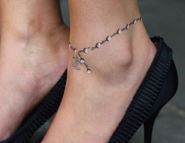 Inspirational ankle tattoos can range from a quote, a flower, an animal or anything that inspires you. Description from kooltattooideas.com. I searched for this on bing.com/images