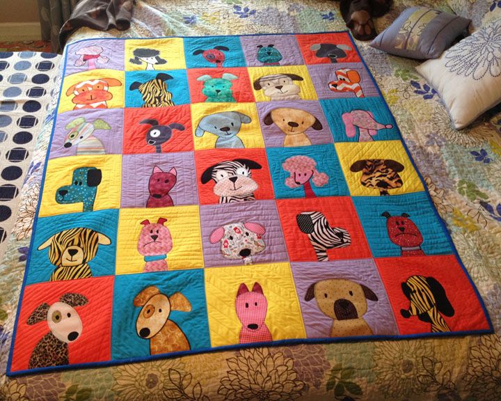 Melinda S Puppy Quilt Love It ♡ Kids Rugs Quilts