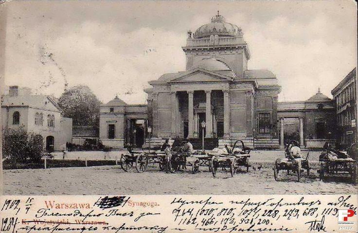 1902 , Wielka Synagoga.  /warszawa