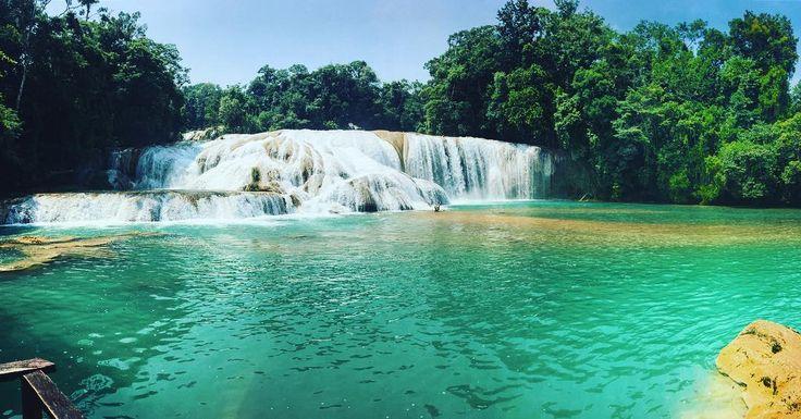 Agua Azul, Waterfall in Mexico