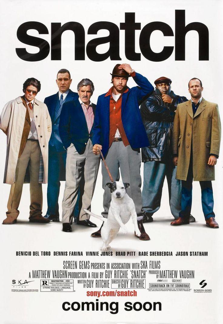 Snatch. Cerdos y diamantes (2000), ingeniosa peli con Brad Pitt y Jason Statham. Me gustan las películas de Guy Ritchie.