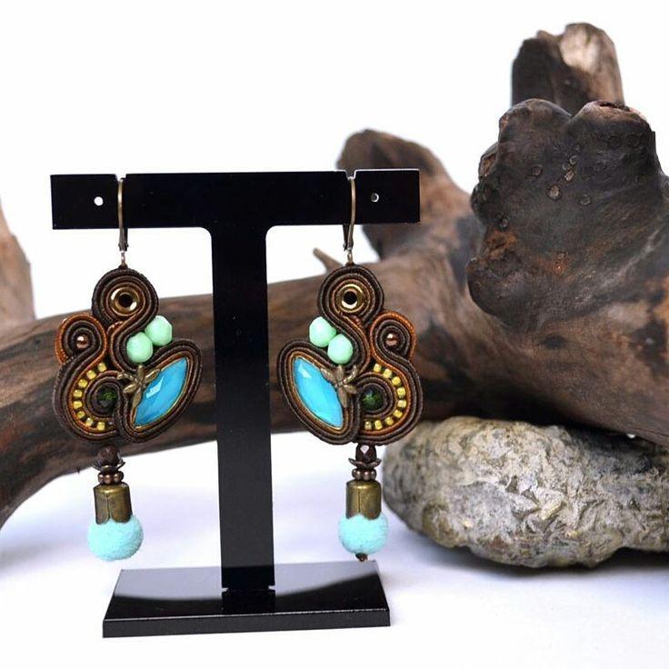 #soutache #bohostyle #earrings