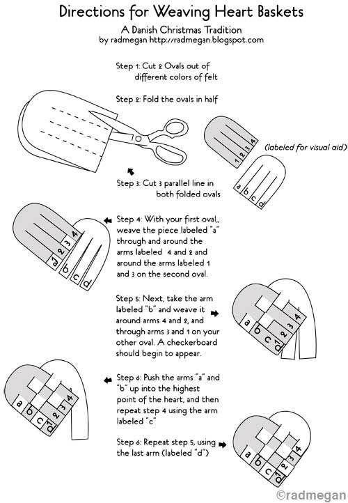 cómo hacer corazón trenzado