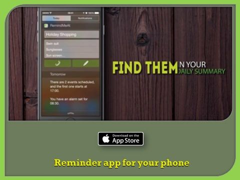 https://flic.kr/p/J66D63 | Awesome Note for iPad, iPhone | Supercharge the way you set reminders on your iOS devices. Open iTunes to buy and download apps.   Follow Us On : www.facebook.com/RemindMeAt   Follow Us On : twitter.com/RemindMeAtApp   Follow Us On : www.instagram.com/remindmeat/   Follow Us On : www.youtube.com/watch?v=ShZ3lSsd7RM   Apps Link :- itunes.apple.com/us/app/apple-store/id948654827?pt=117130...