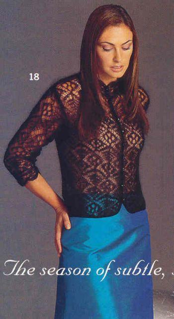 Модель №1 - Шетландские узоры - Галерея - Knitting Forum.Ru