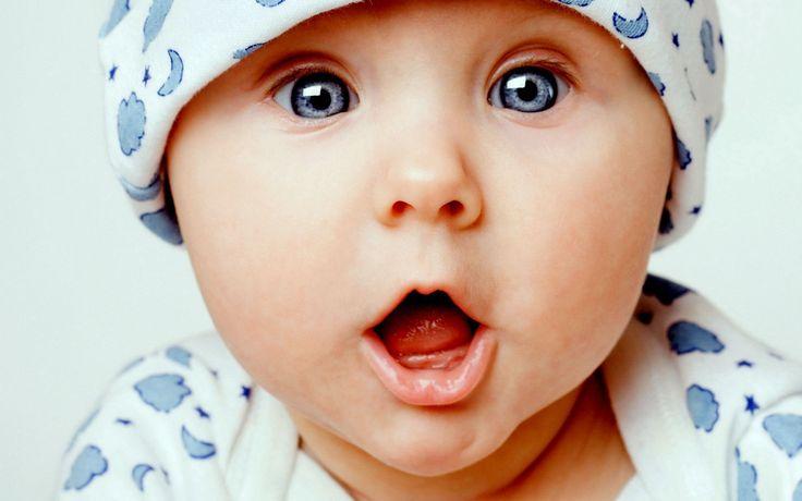 dunkelblaue augen  | Bild, Baby, blaue Augen, Baby, 1920x1200