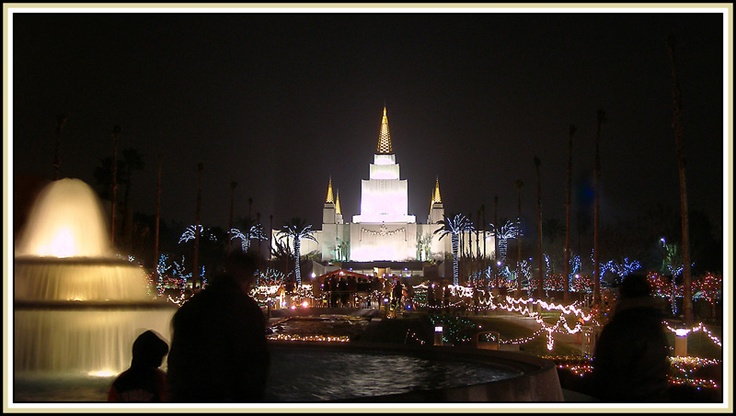 Lds temple oakland ca christmas lights oakland temple