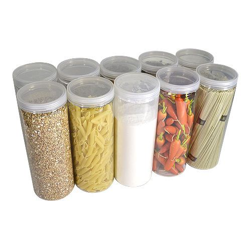 [ Silicook ]A set of 10 Fridge Food storage containers - Cylinder D set