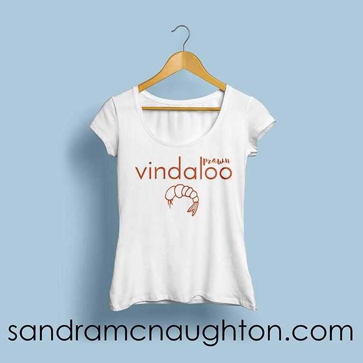 Prawn vindaloo t-shirt design