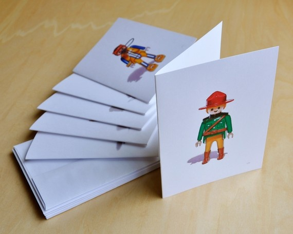 Playmobil Note Cards $15