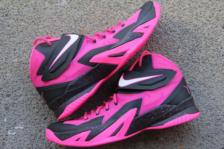 "on sale 950df 08ec4 Nike Zoom LeBron Soldier 8 ""Think Pink"""