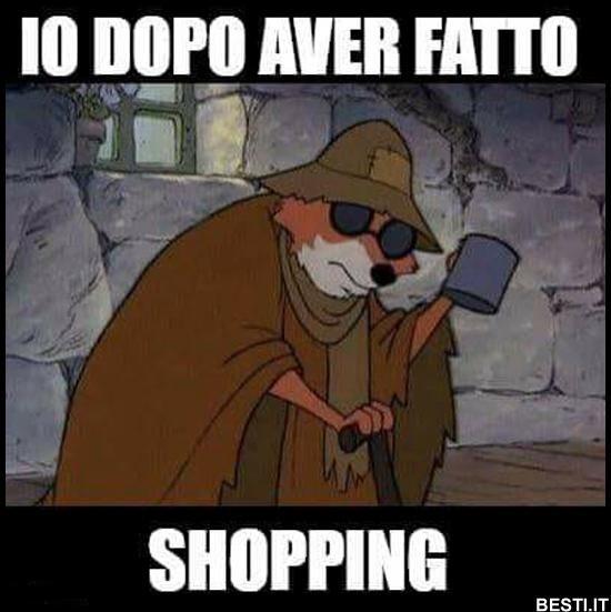 Dopo aver fatto shopping