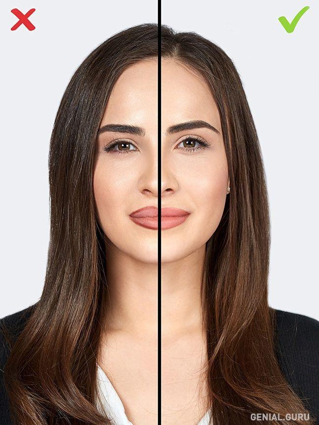10 Errores de maquillaje que te agregan años. 9-Contorno en los labios no difuminado. El lápiz para delinear los labios te garantiza un maquillaje de calidad de tus labios. Permite hacer la forma de la boca más marcada y seductora. Pero hay que tener mucho cuidado con los intentos de ampliar el contorno natural de los labios usando un lápiz, sin difuminar sus contornos hacia adentro de los labios.