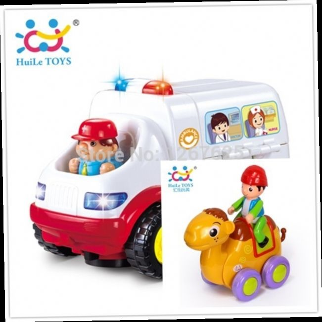 47.00$  Watch here - http://alidti.worldwells.pw/go.php?t=2011332807 - Learning Tools Eletronicos Ambulance Brinquedos para Bebe Friction Animia Baby Toys Free Shipping 836 & 366B
