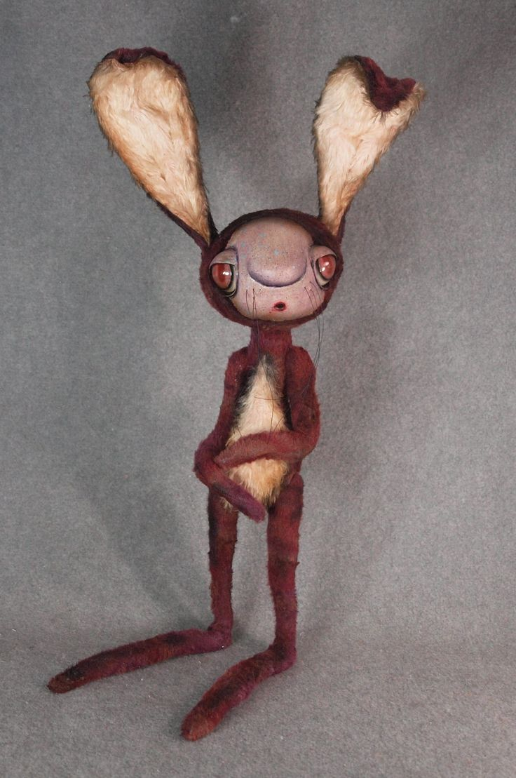 Rabbit Fine Art Doll, 19""
