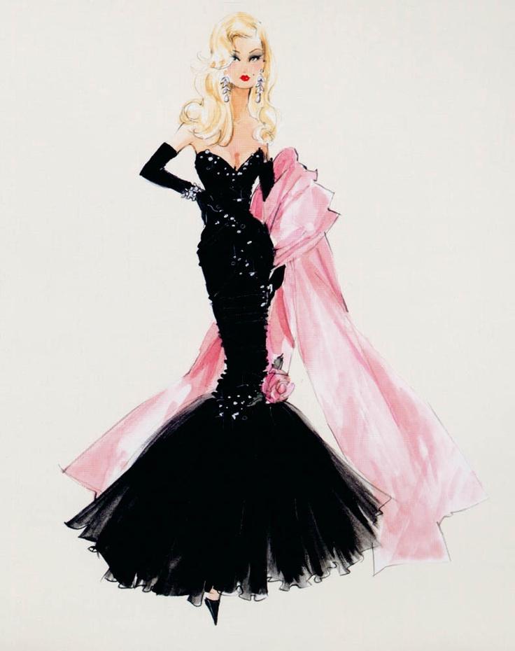 Robert Best, Barbie Fashion Illustration