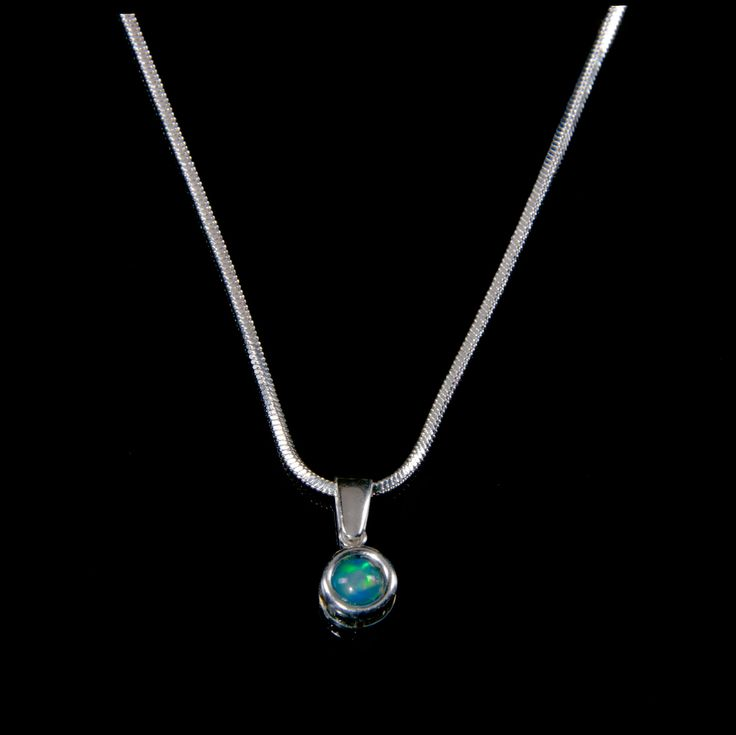 Made in New Zealand awesome #Nepogodova Necklaces with Natural Opal #5 - Price: NZ$ 75.00. Buy now at https://www.nepogodova.co.nz/necklaces-with-natural-opal-5