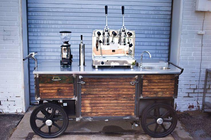 mobile coffee cart - Google Search