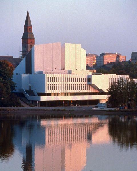 Finlandia Hall. Helsinki/ Alvar Aalto