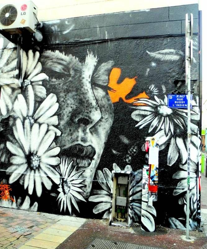 C'est toujours un moment fort de tomber sur une fresque de DIRE au détour d'une ruelle du Cours Julien, un site qu'il affectionne particulièrement à Marseille.  Dire, Cours Julien - Marseille // photo 2016 cc Alain…