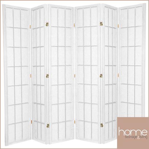 White Shoji Room Dividers - www.hsandl.com.au