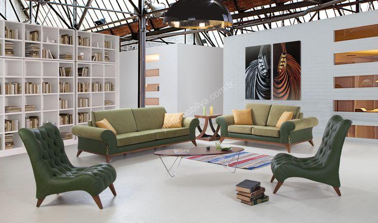 Melodi Modern Salon Takımı #koltuk #mobilya #yildizmobilya #pinterest #green #melodi #müzik #ev #dekorasyon #moda #trend  http://www.yildizmobilya.com.tr/