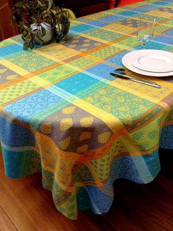 31 Best French Jacquard Woven Tablecloths Images On Pinterest Interesting Dining Room Tablecloths 2018