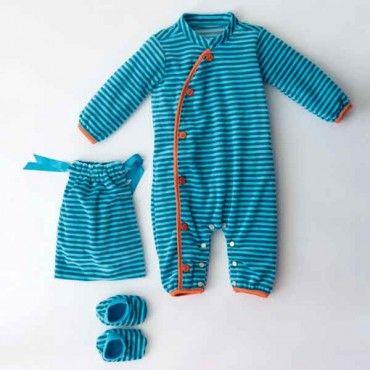 Babypakje met slofjes (PDF patroon)