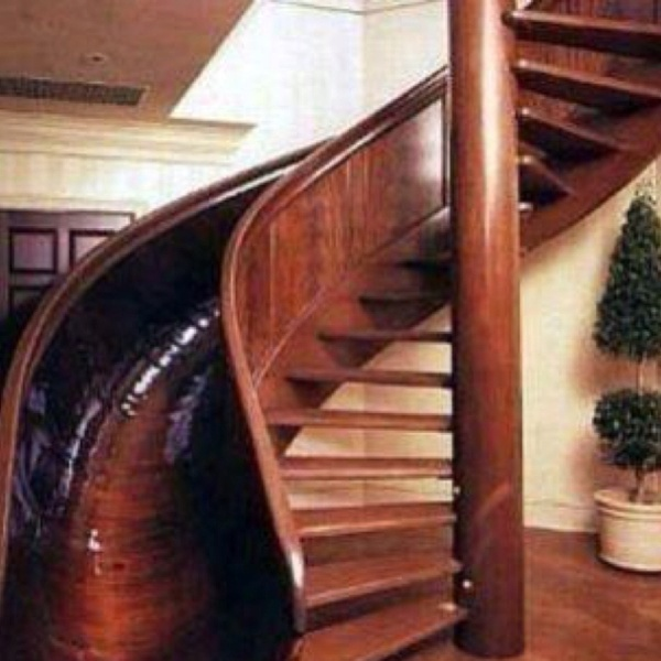 Slide/Stair combo katiekhenry: Spirals Stairs, I Want Thi, Dream House, Future House, Spirals Staircase, Sliding Stairs, Yes Pleas, Stairs Sliding, Dreamhouse