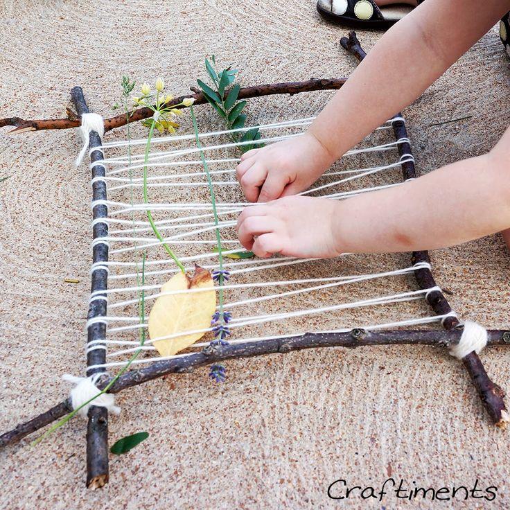 Nature Loom - tie in their nature treasures