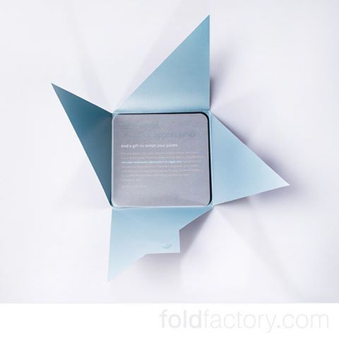 Angled Iron Cross from GLS Precision Marketing for Starwood Hotels and Resorts. #weddings #design #directmail #digitalprint #events #folding #paper #print #accordion #marketing #cards #crafts #brochure #creativity #invitations