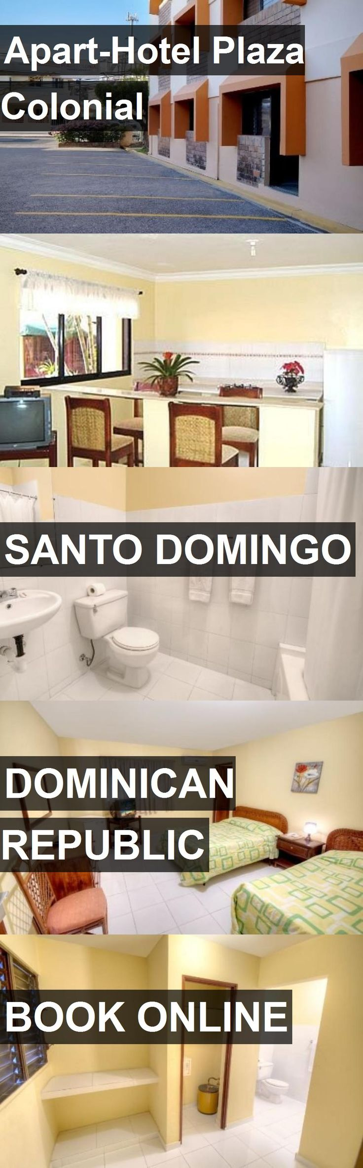 Apart-Hotel Plaza Colonial in Santo Domingo, Dominican Republic. For more information, photos, reviews and best prices please follow the link. #DominicanRepublic #SantoDomingo #travel #vacation #hotel