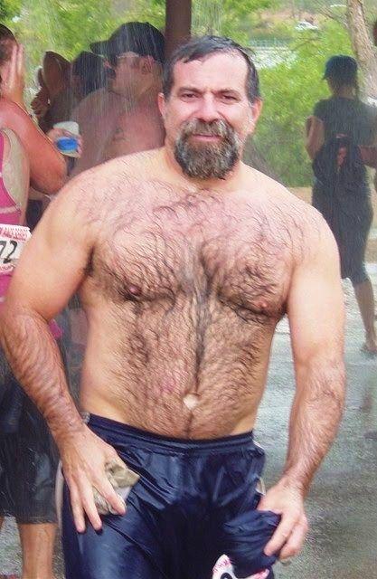 Naked teddy bear men