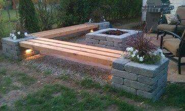 Easy bench...could even store for winter.